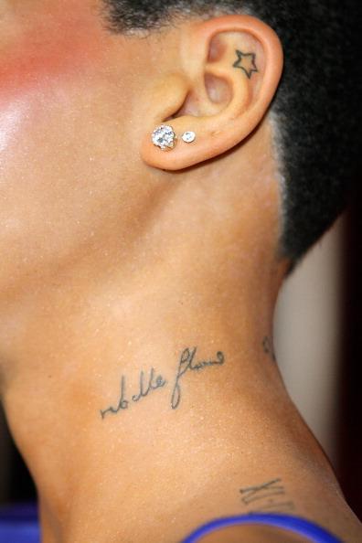 Tatouages Rihanna Rebelle